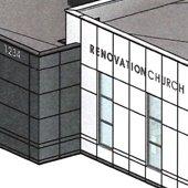 Renovation Church rendering