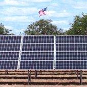 Aveda solar energy panels