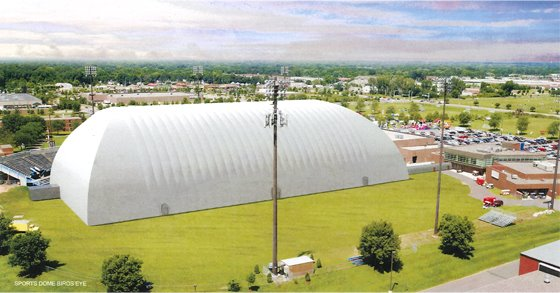National Sports Center dome rendering