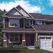 Rendering of a Lexington Cove home