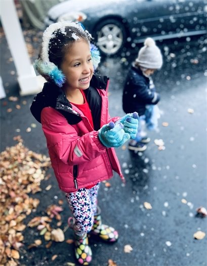 People & Families - Jovyel Grant - First Snow