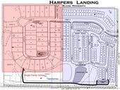 Harpers Landing site plan