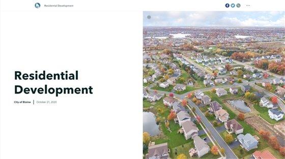 Residential Development Interactive Map