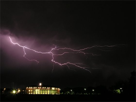 Lightning Near Blaine City Hall - Randy Ripley