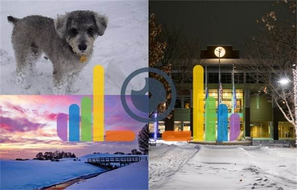 Winners of the Impressions of Blaine Winter Photo Contest Collage