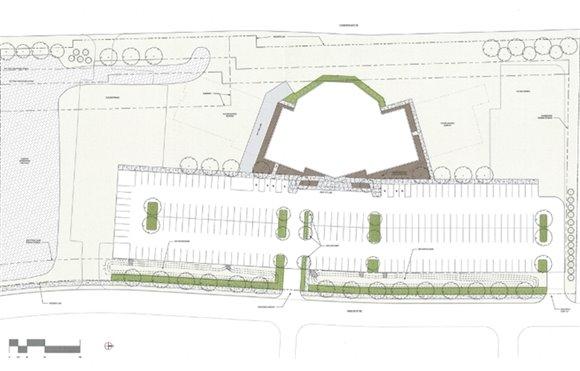 Renovation Church Site Plan
