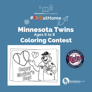 MN Twins Coloring Contest - 6 to 8 - 300