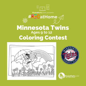 MN Twins Coloring Contest - 9to12 - 300