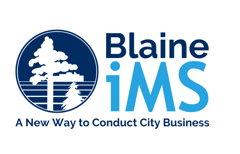 Blaine iMS - A New Way to Conduct City Business