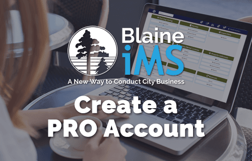 IMS - Create a PRO Account - 500