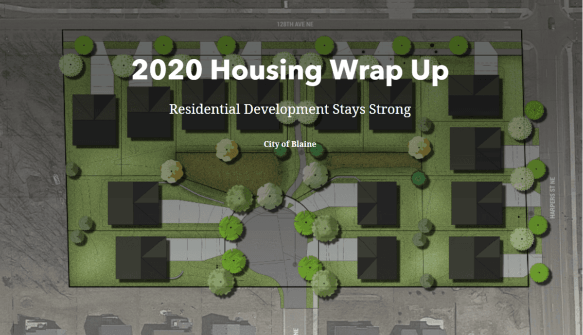 2020 Housing Wrap Up map cover page image