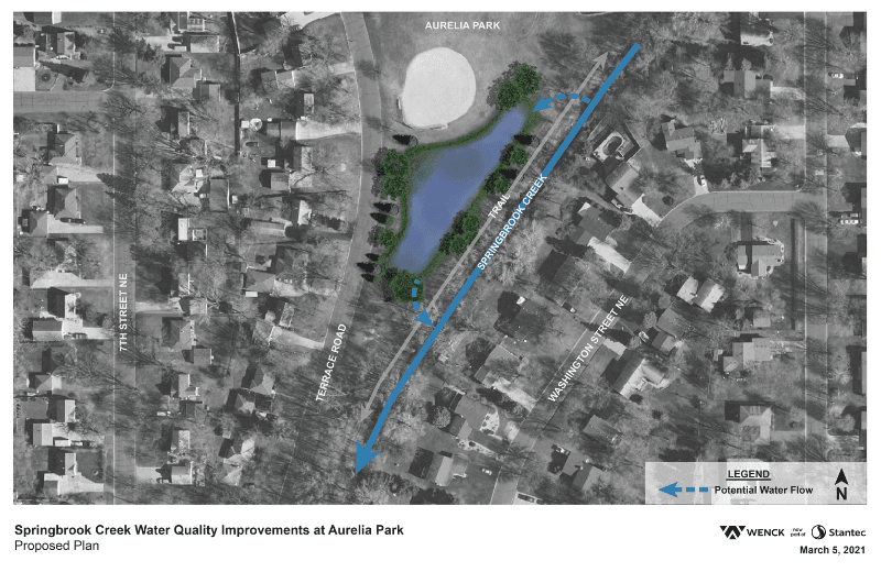 Aurelia Park Proposed Plan - 800x520