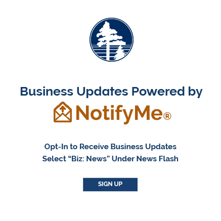 Business Updates Powered by Notify Me