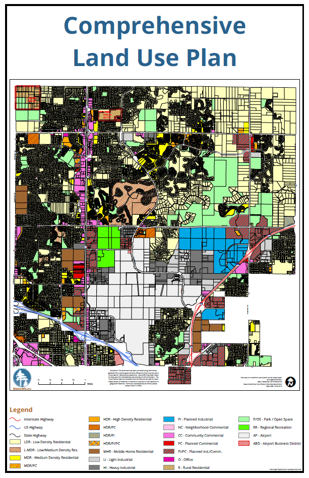 City of Blaine Land Use