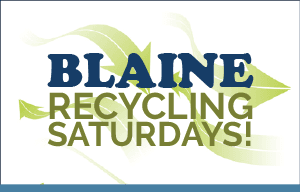Blaine Recycling Saturdays