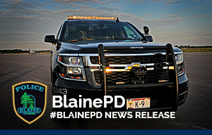 BlainePD News Release