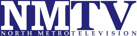 The logo for North Metro Television.