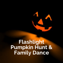 Flashlight Pumpkin Hunt
