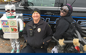 BlainePD Trick or Treat Village of Blaine