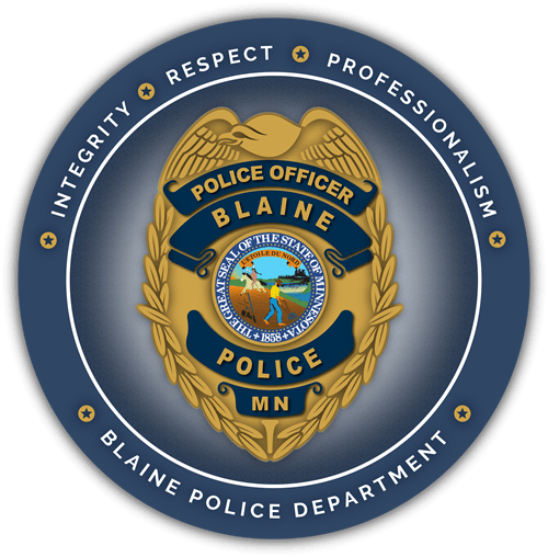 Blaine Police Department Logo 500x500