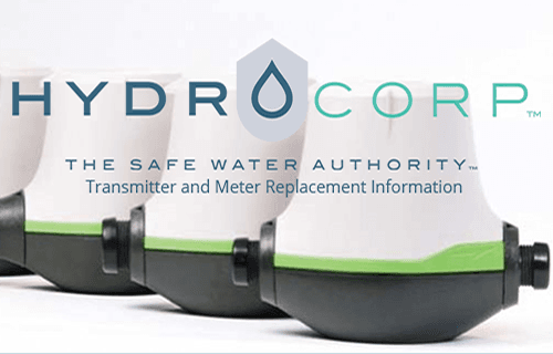 HydroCorp Transmitter and Meter Replacement Information