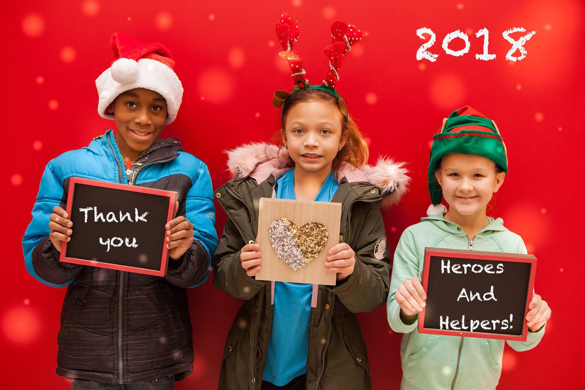 2018 Heroes and Helpers Thank You