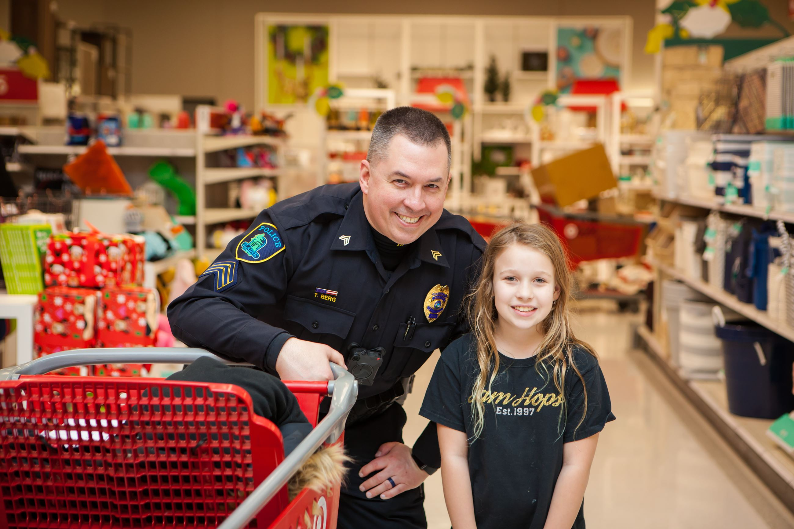 2018 Heroes and Helpers Lt. Berg and Shopper