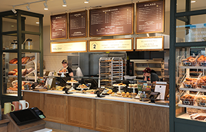 Panera Bread Counter