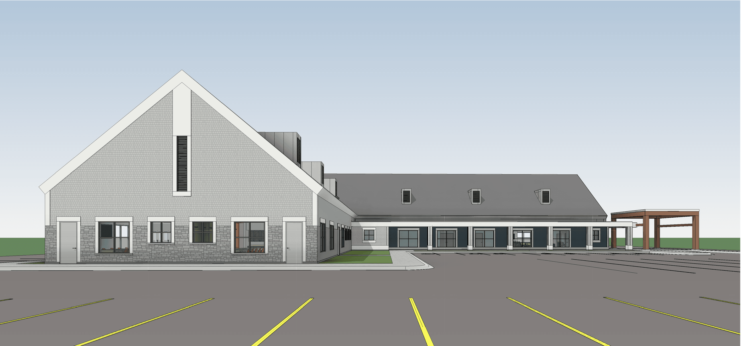 Mary Ann Young South Rendering