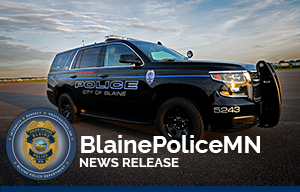 Blaine PD News Release