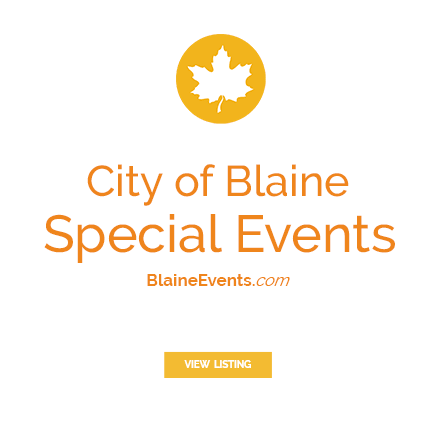 City of Blaine Special Events - BlaineEvents.com - View Listing