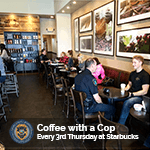 Coffee with a Cop - Every 3rd Thursday at Starbucks - 150x150