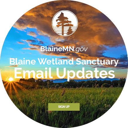 Blaine Wetland Sanctuary Email Updates - Sign Up