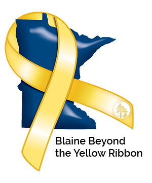 Logo for Blaine Beyond the Yellow Ribbon