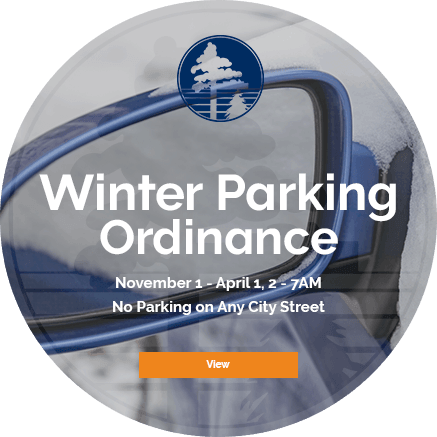 Winter Parking Ordinance - November 1-April 1 (2AM-7PM)