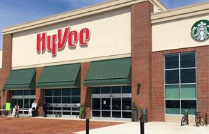 exterior of a Hy-Vee store