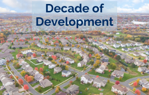Decade of Development photo of Blaine neighborhood