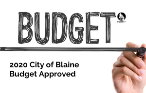 Blaine Budget approved image