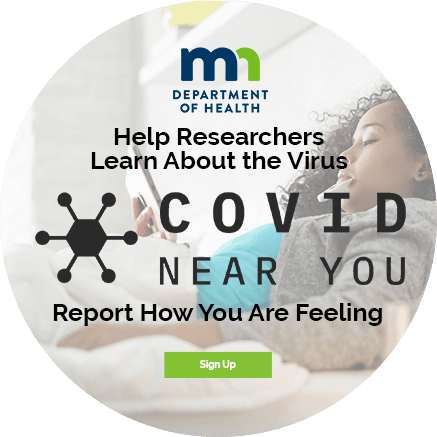 Help Researchers Learn About the Virus - COVID Near You - Report How You Are Feeling - Sign Up