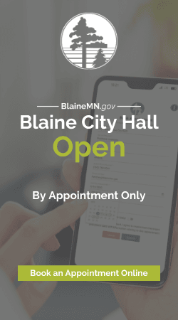 Blaine City Hall Open By Appointment Only