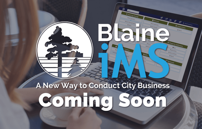 Online Permits Powered by IMS (Intuitive Municipal Solutions) Coming Soon