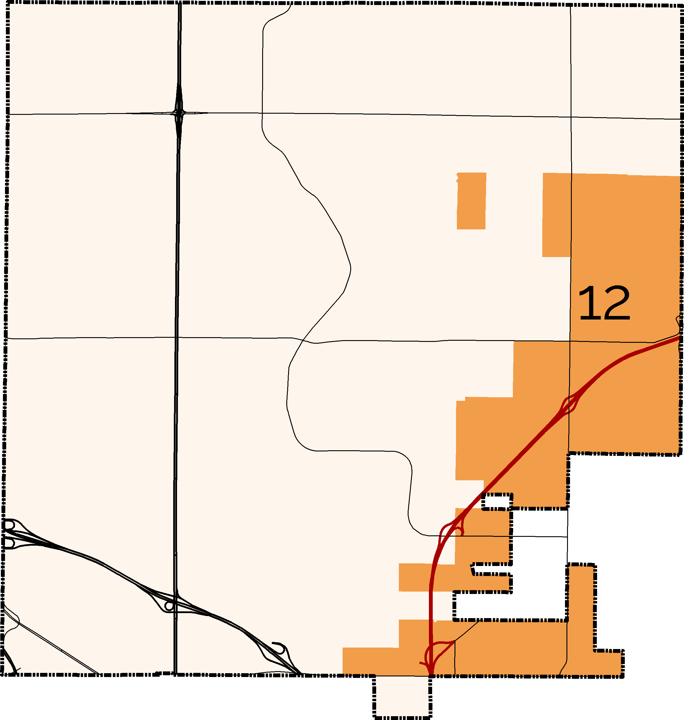 District 12 Boundary Map