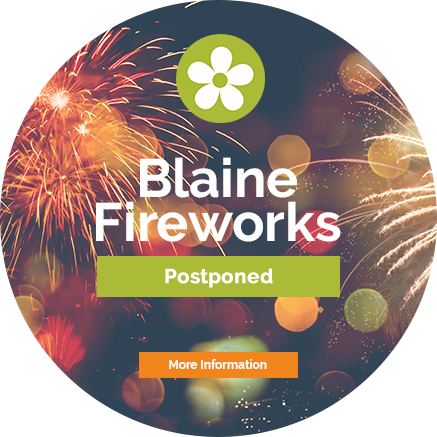 Blaine Fireworks at the National Sports Center, Saturday, July 4 - More Information